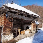 Breakfast barn in winter, Zalan, Transylvania. Photo: Count Kalnoky.