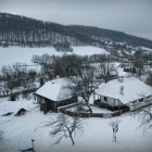 Zalan property winter, Transylvania. Photo: Count Kalnoky.