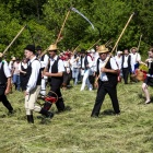 Royal scything contest 2015, Zalan, Transylvania. Photo: Arnold Musat.